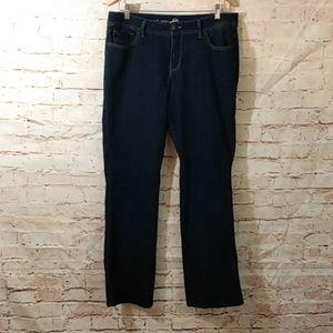 Dressbarn Westport Bootcut Jeans Curvy Fit Size 12